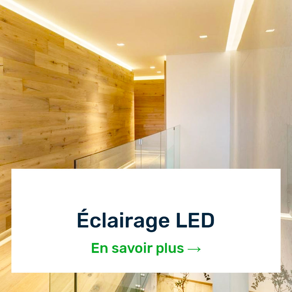Éclarage LED