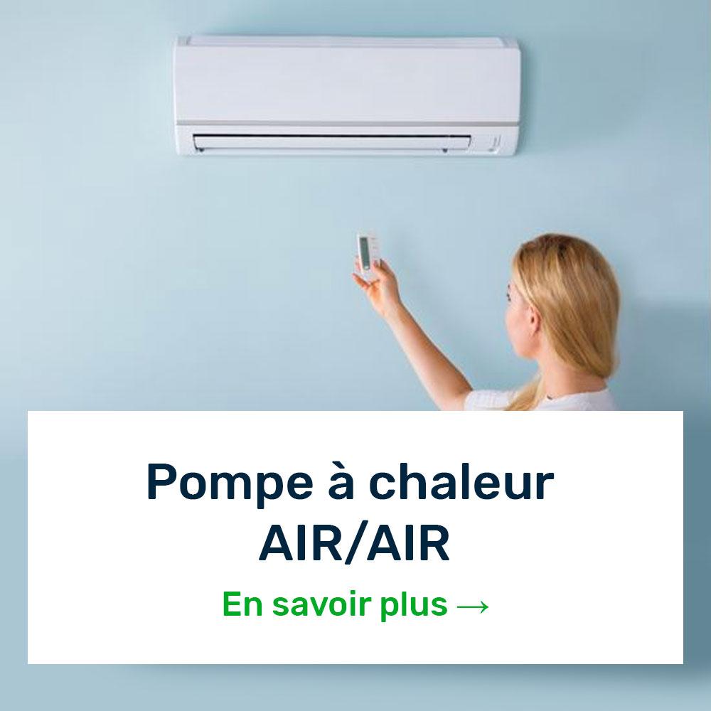 pompa à chaleur air/air